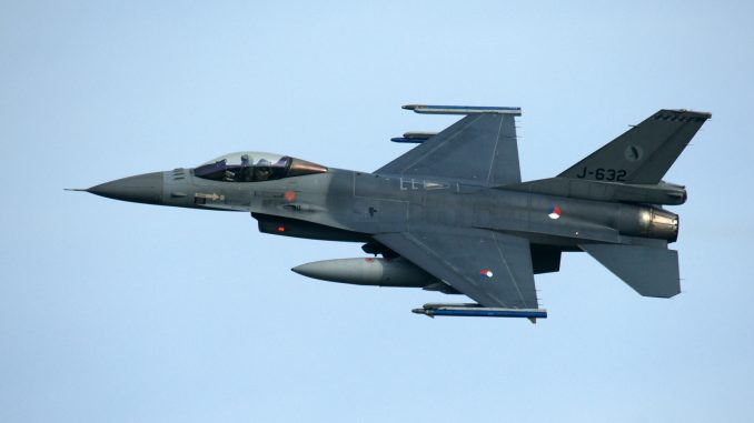 F-16AM Fighting Falcon J-632 322sq Royal Netherlands Air Force