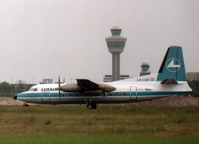 Fokker F.27-100 Luxair. LX-LGA