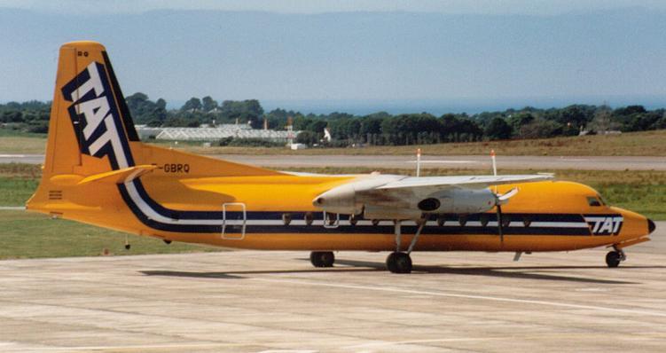 Fairchild Hiller FH-227B F-GBRQ TAT
