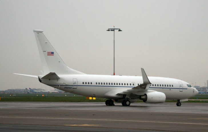 Boeing C-40C Clipper 02-0203 201st AS USAF