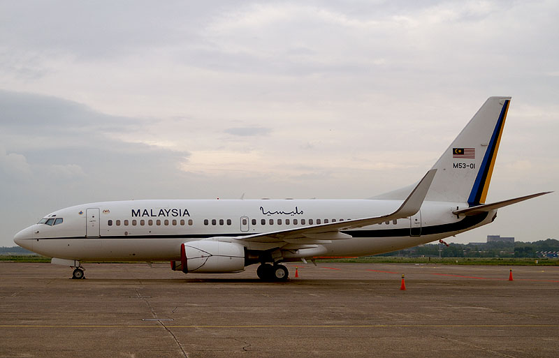 Boeing 737 BBJ M53-01 Malaysian Government