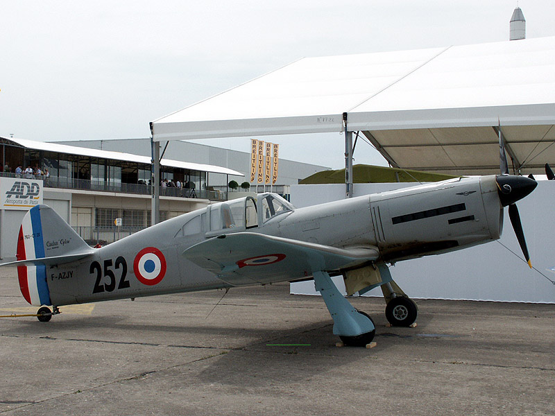 Caudron JN 760 C1, a replica, powered by a SNECMA 12 T engine. built in 1999 by Jean Noan.