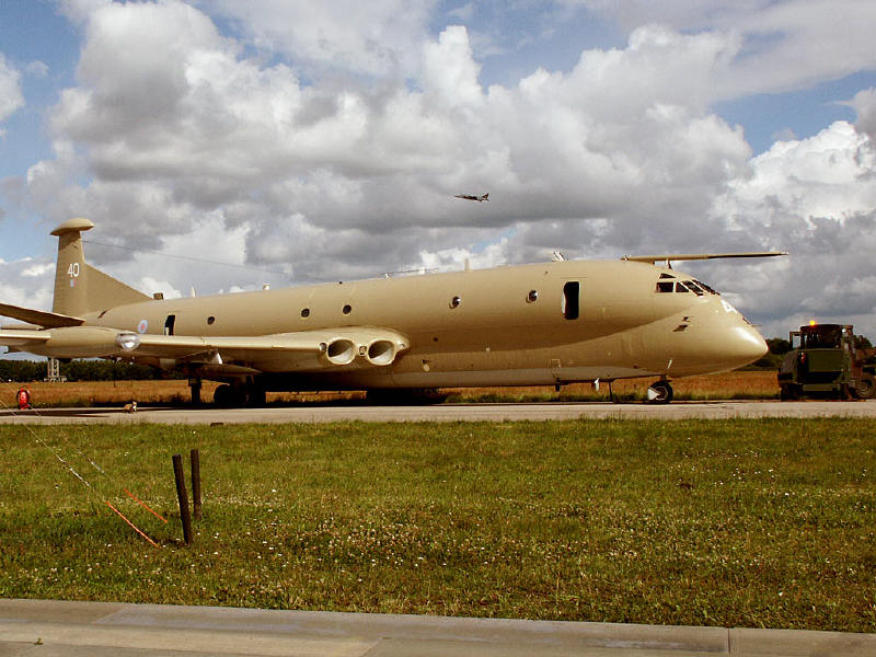 RAF Hawker Siddeley Nimrod MR.2 XV240 of Kinloss MRW