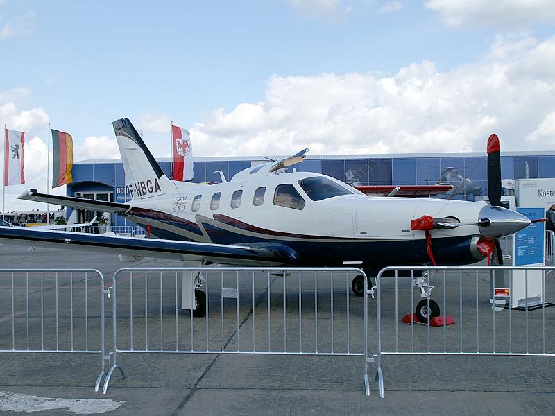 SOCATA TBM850 F-HBGA at the Berlin Air Show 2006