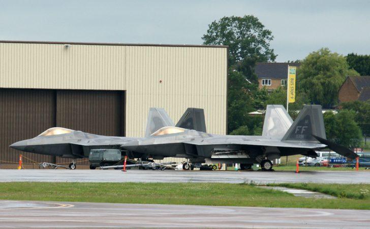 Lockheed Martin/Boeing F-22A Raptor 09-4191/FF 94thFS USAF