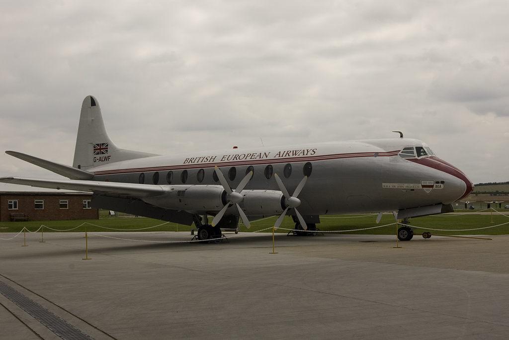 Vickers 701 Viscount G-ALWF