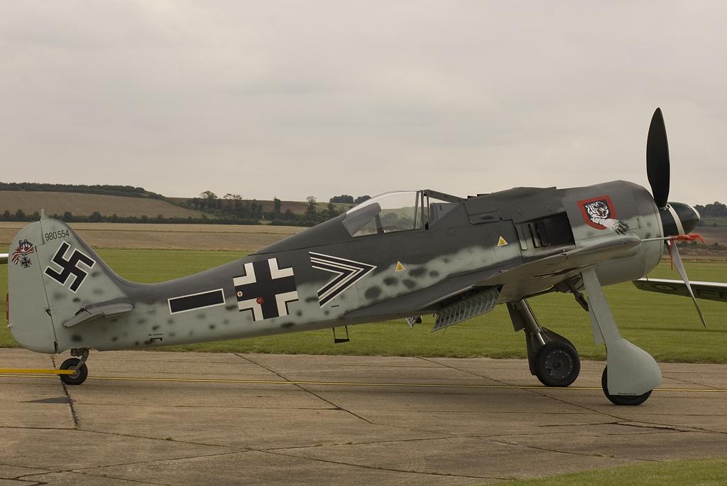 Focke Wulf FW190A-8 N Luftwaffe 980554