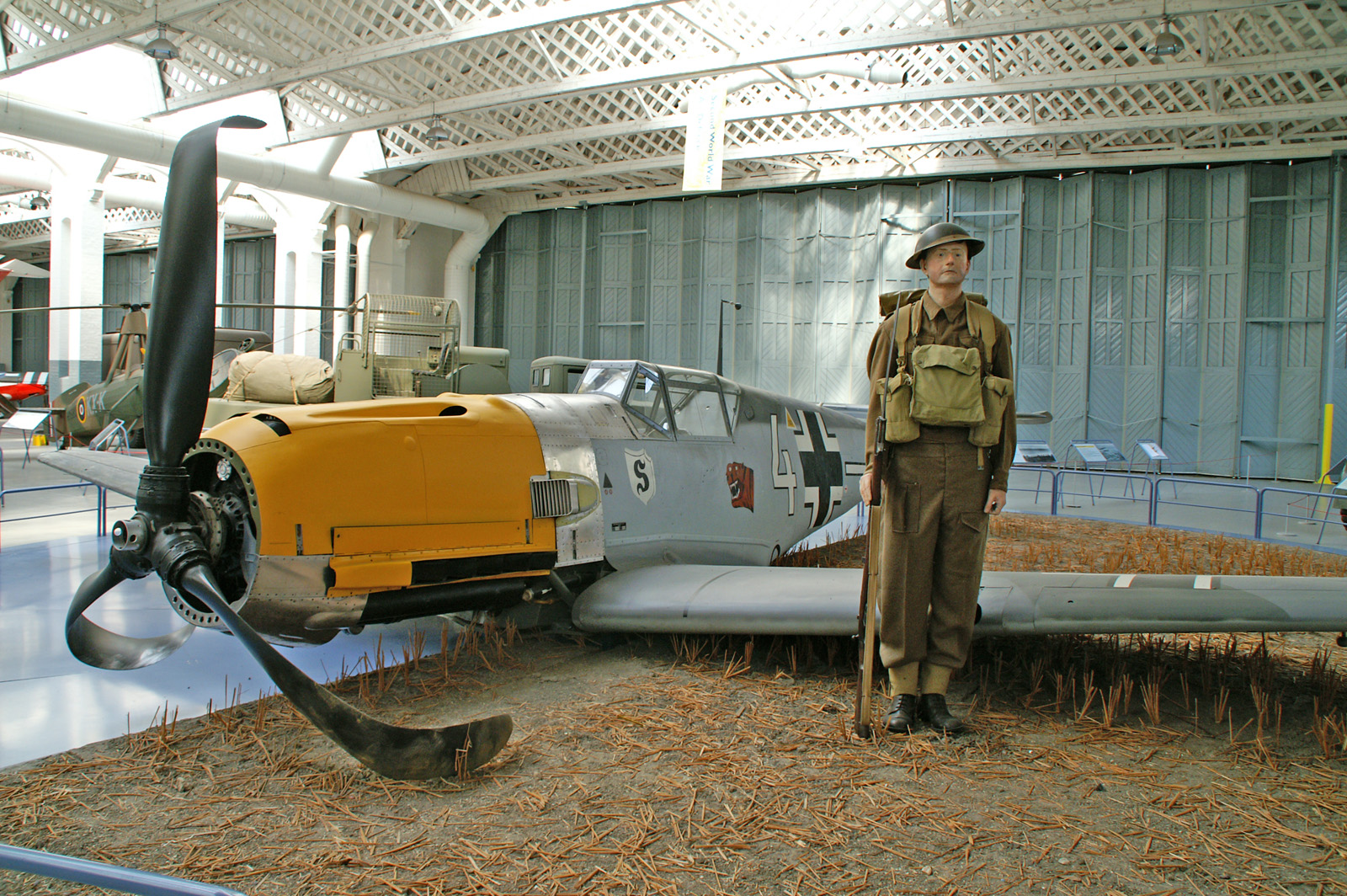 Messerschmitt Bf 109E-3 1190/4 Luftwaffe Imperial War Museum Duxford