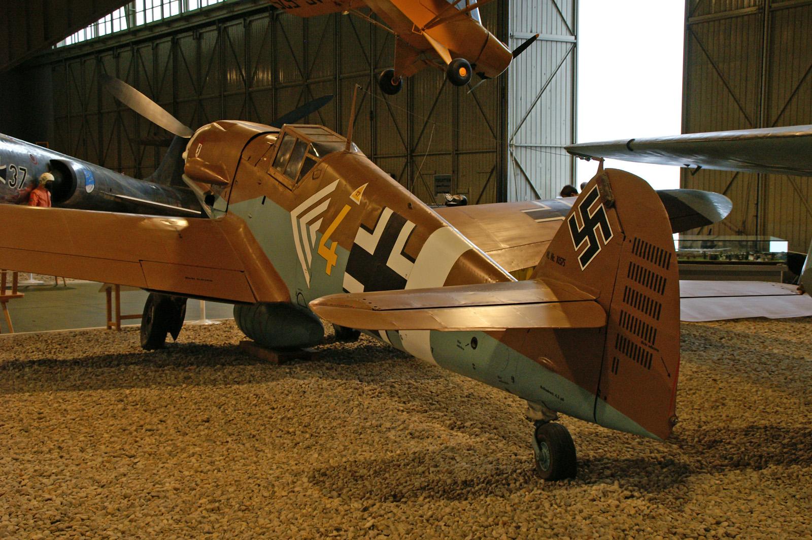 Messerschmitt Bf 109G-2 10575/4 Luftwaffe Museum Berlin-Gatow