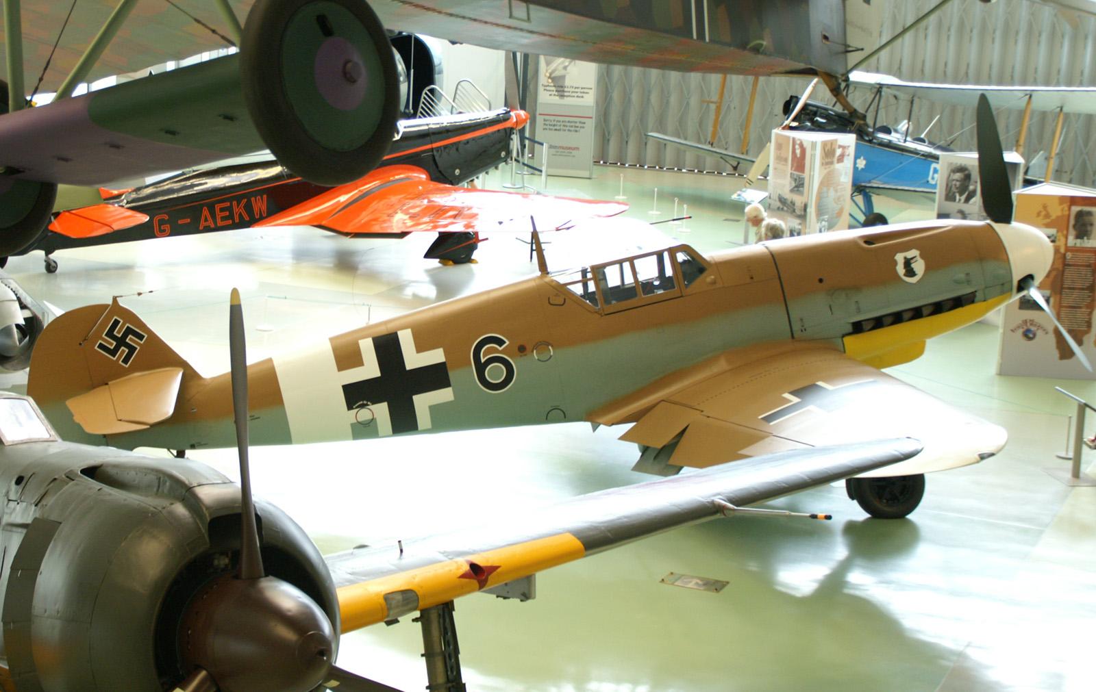 Messerschmitt Bf 109G-2 Tröp 10639/6 at RAF Museum Hendon