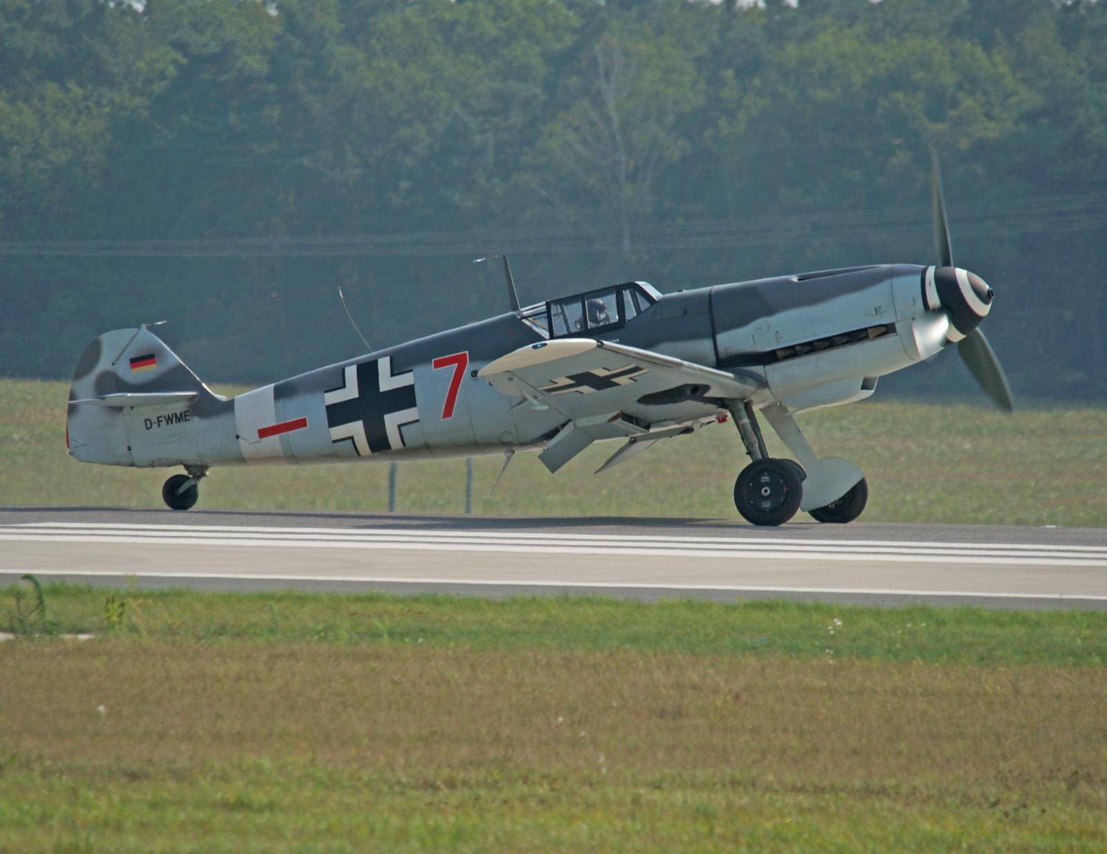 Messerschmitt Bf 109G-4 D-FWME/-+7 Luftwaffe (Messerschmitt Stiftung)