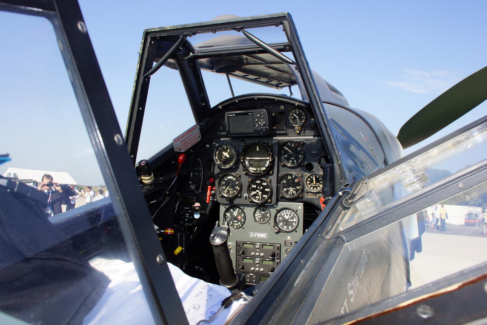 Cockpit Messerschmitt Bf109G-4