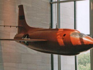 Bell X-1 46-062 nicknamed Glamorous Glennis
