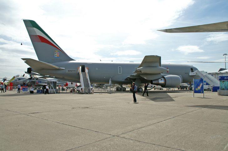 Boeing KC-767A N767TT MM62226 14-01 Italian Air force