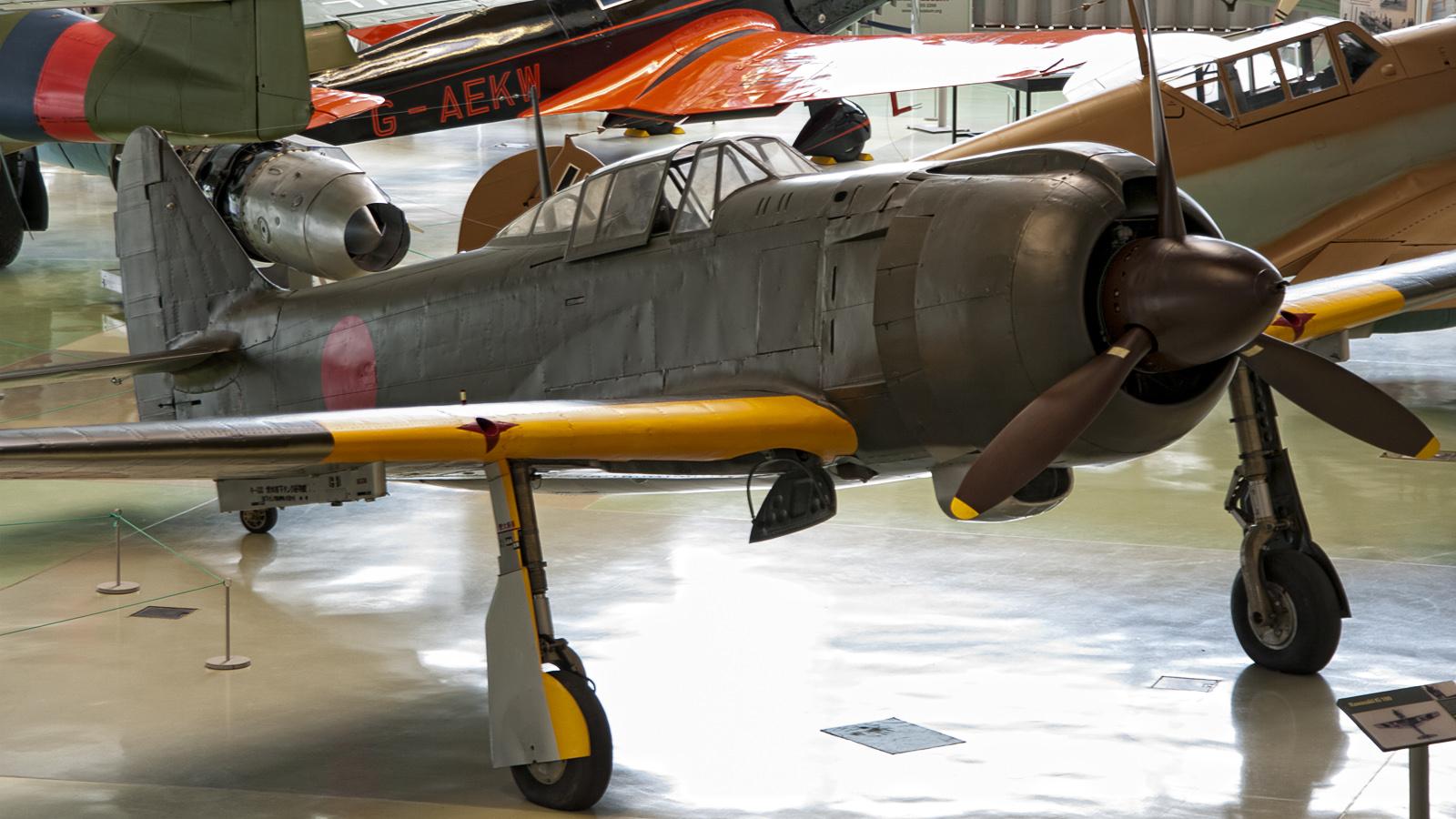 Kawasaki Ki-100-1b Japanese Air Force