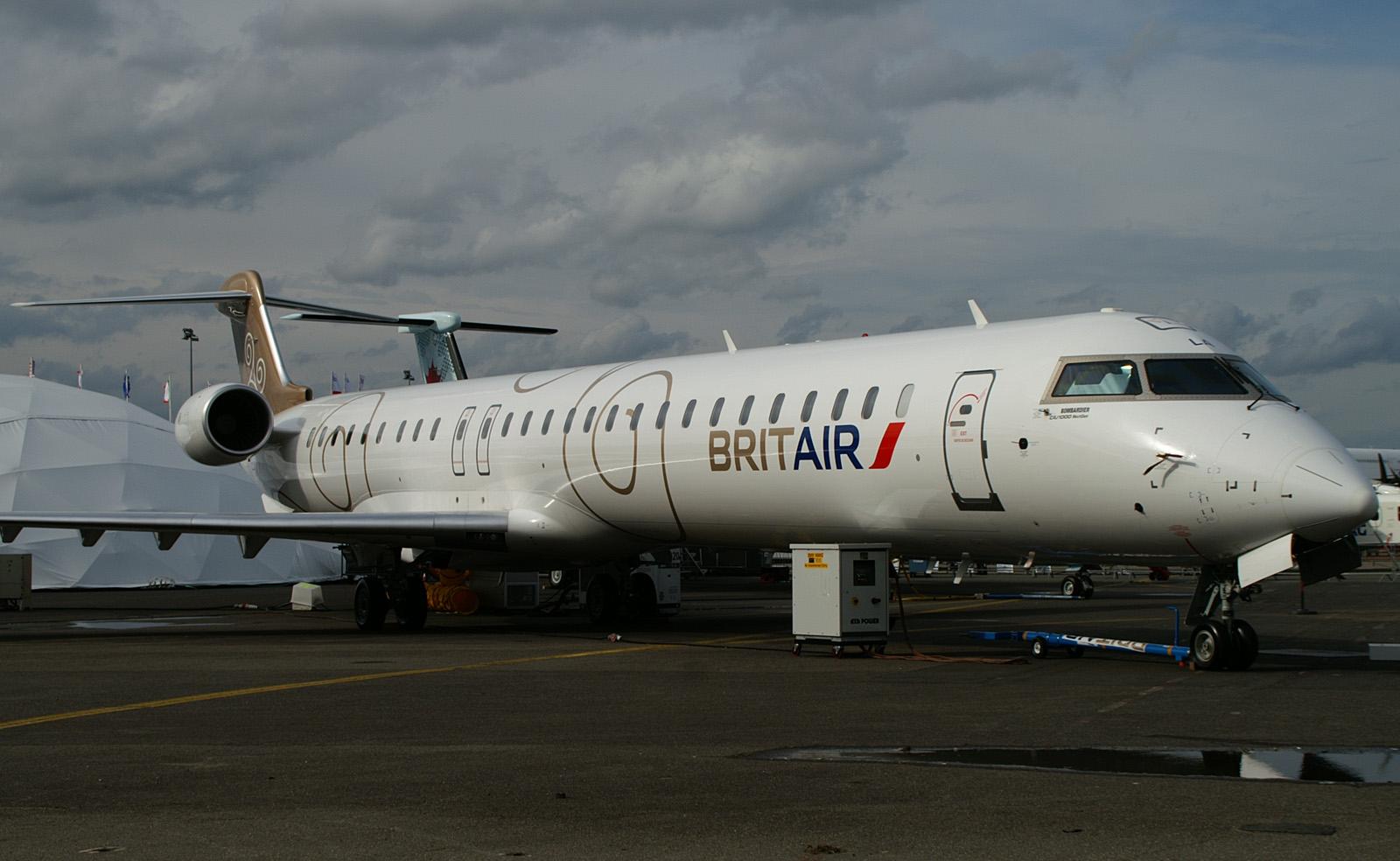 F-HMLA Bombardier Regional Jet CRJ1000, Brit Air