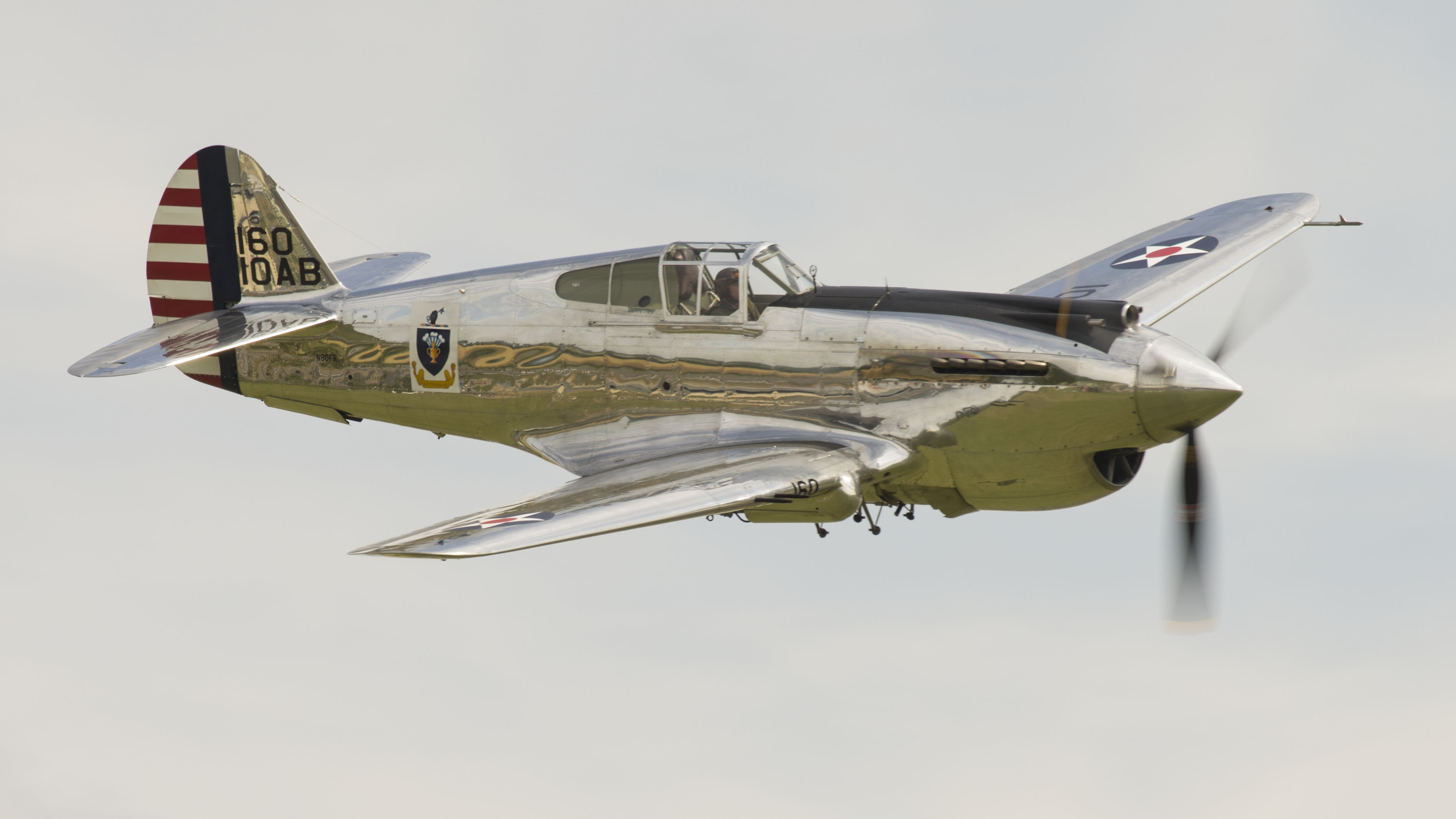 Curtiss P-40C Warhawk IIb N80FR