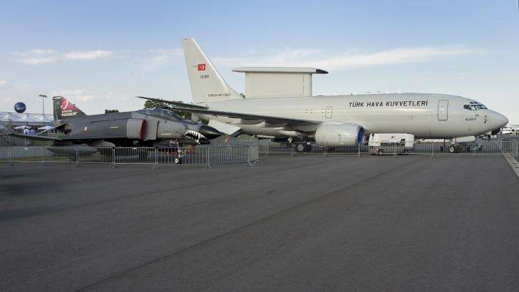 Boeing 737-7ES Peace Eagle 13-001 Turkish Air Force