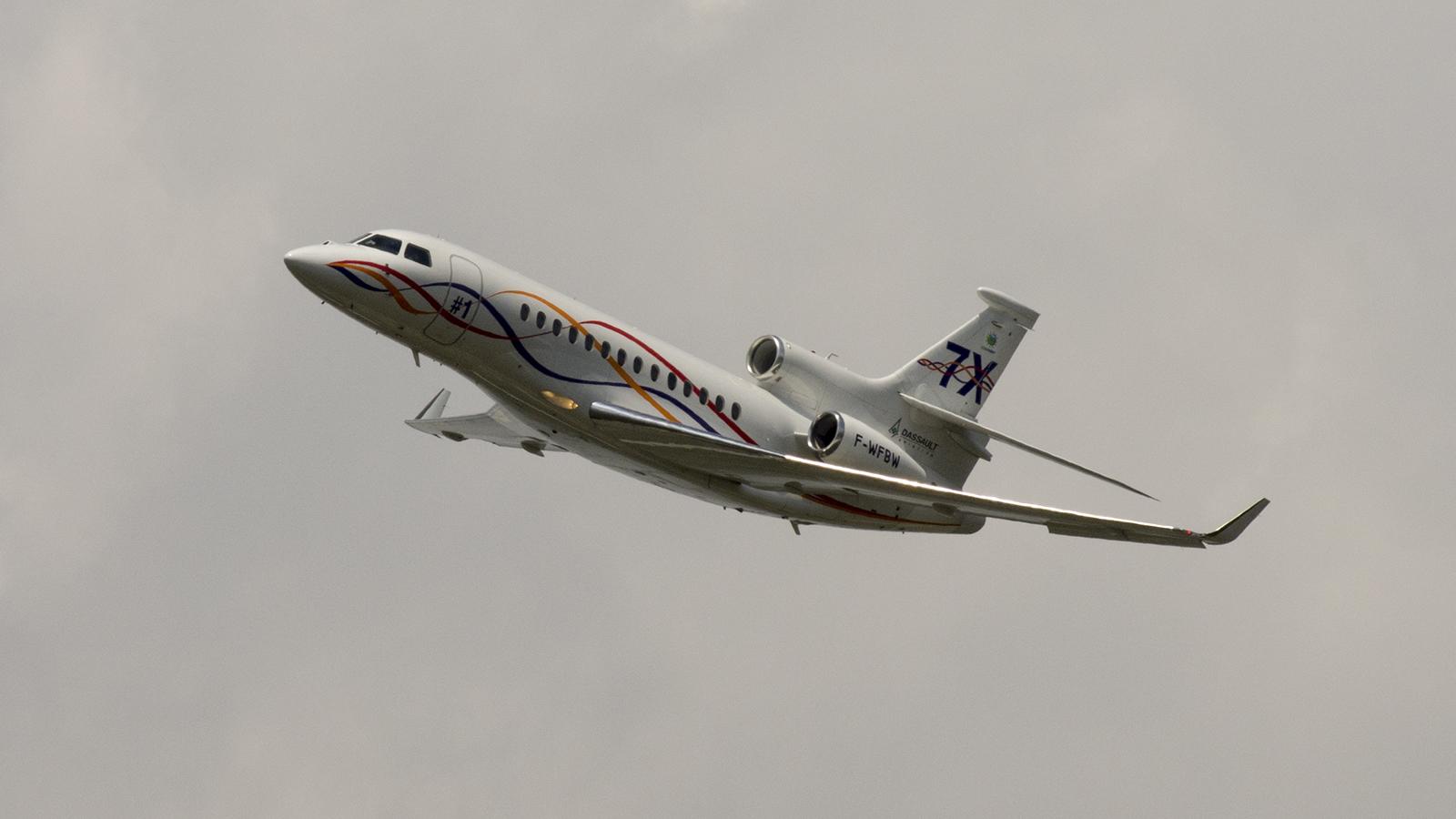 Dassault Falcon 7X F-WFBW Dassault