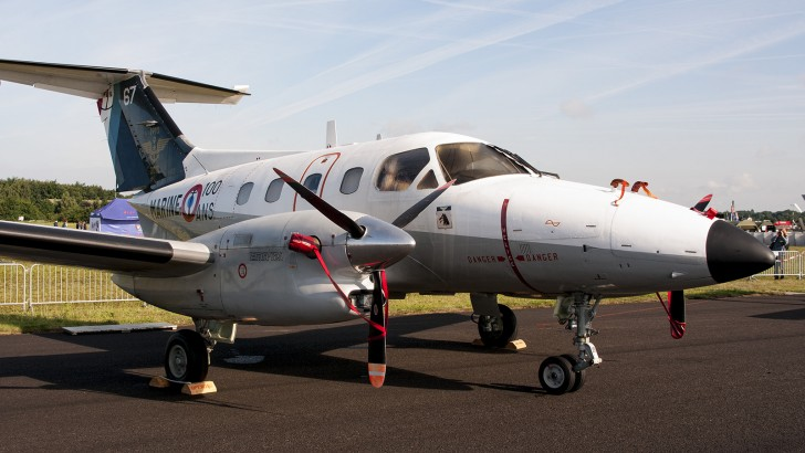 Embraer EMB-121AN Xingu 67 French Navy 100 years