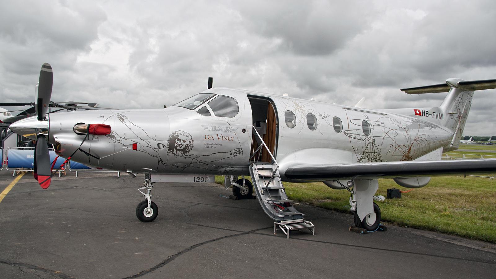 Pilatus PC-12 47E HB-FVM Pilatus