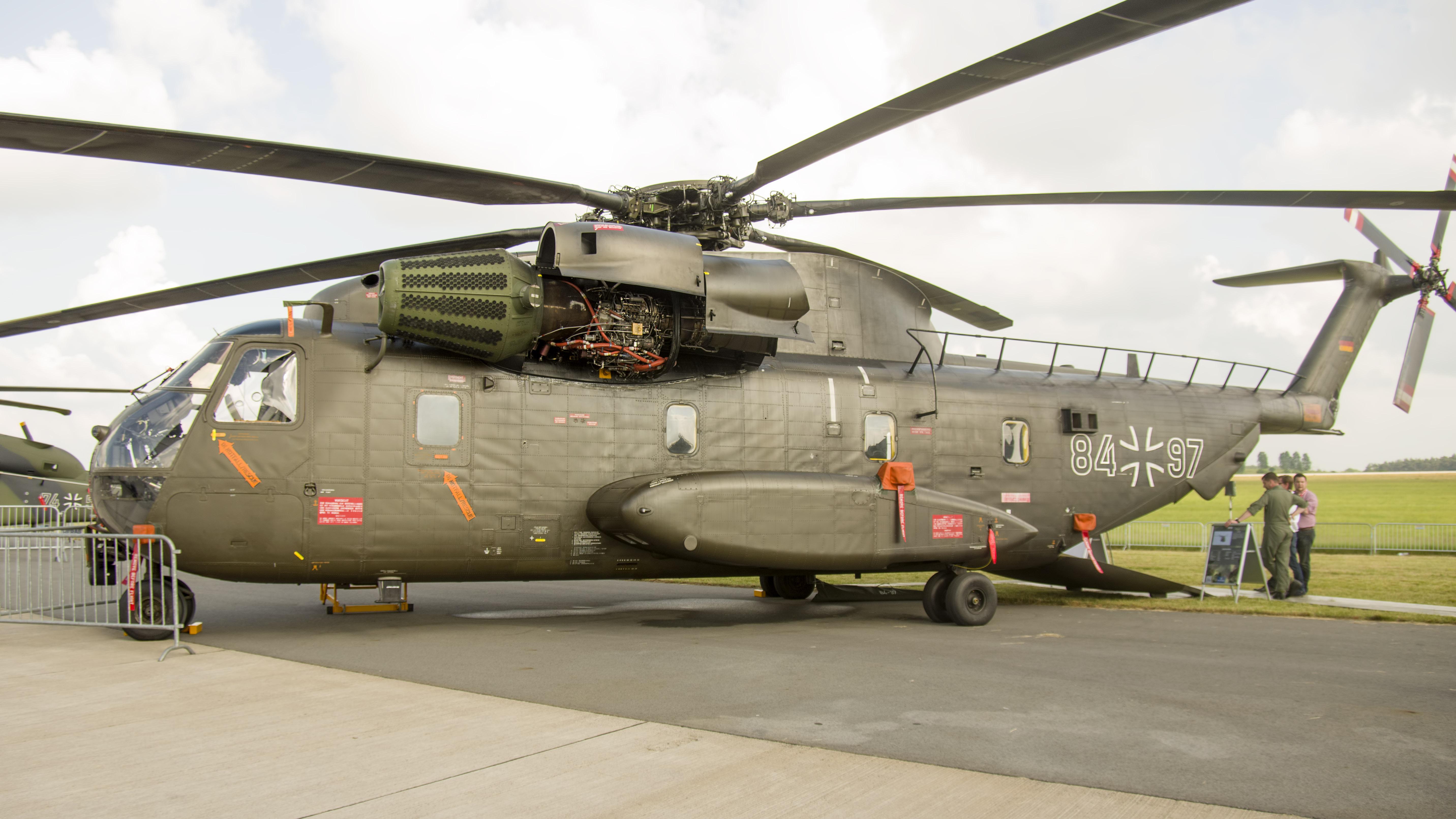 _IMG2263 Sikorsky VFW-Fokker CH-53G S-65C-1 84+97 German army