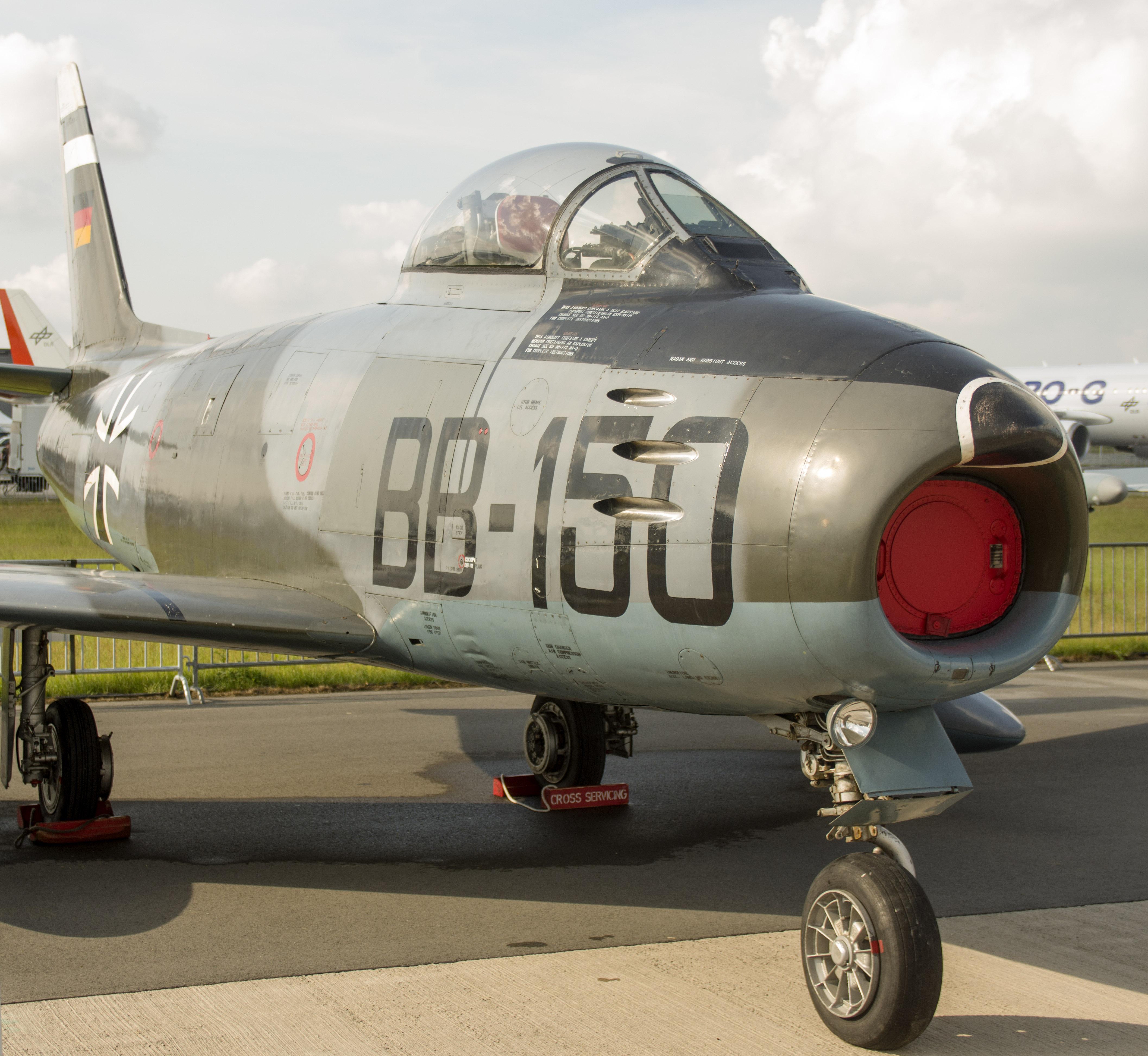 _IMG2265 Canadair CL-13A Sabre 5 BB-150 German Air Force