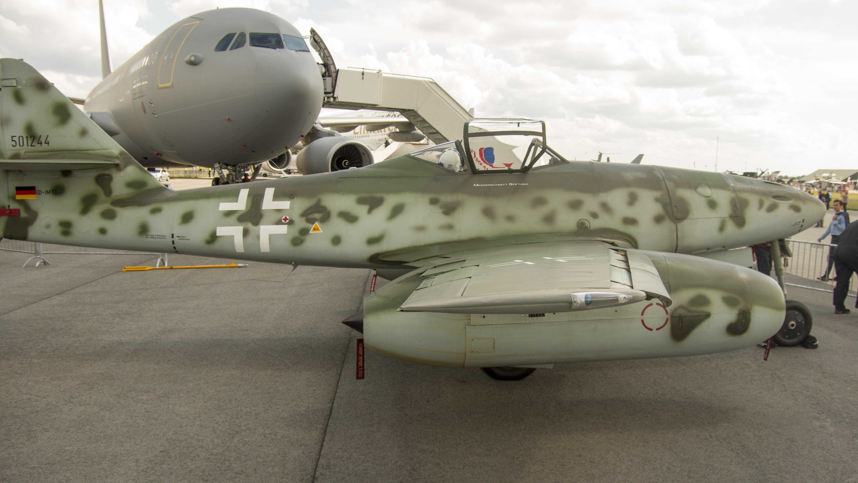 _IMG2357 Messerschmitt Me-262A-1C Schwalbe Replica D-IMTT Messerschmitt Stiftung