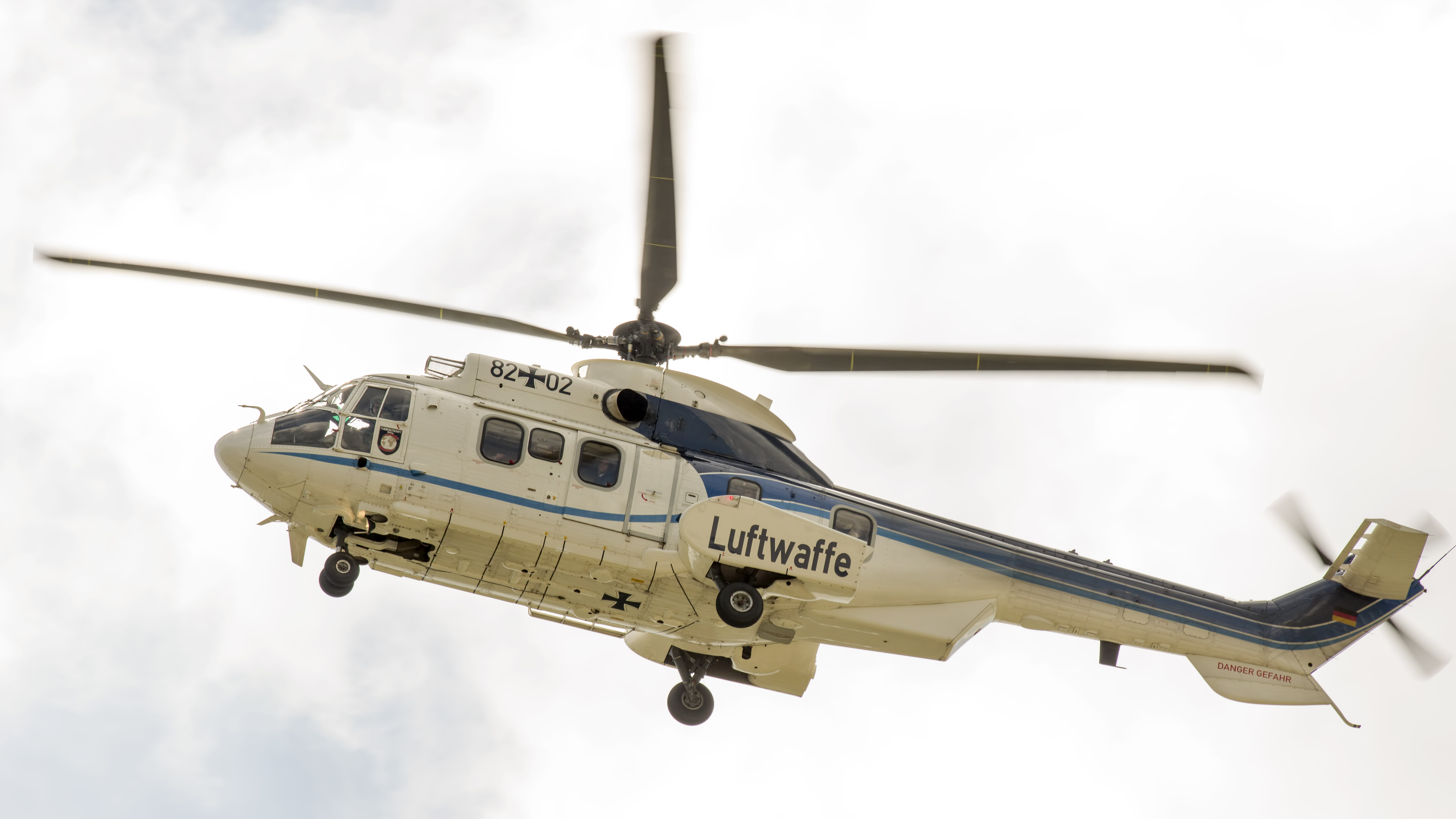 Eurocopter AS-532U2 Cougar Mk2 82+02 Germany air force