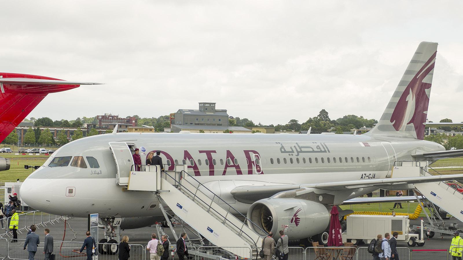 _IMG5448 Airbus A319-133LR A7-JCA Qatar Airways s