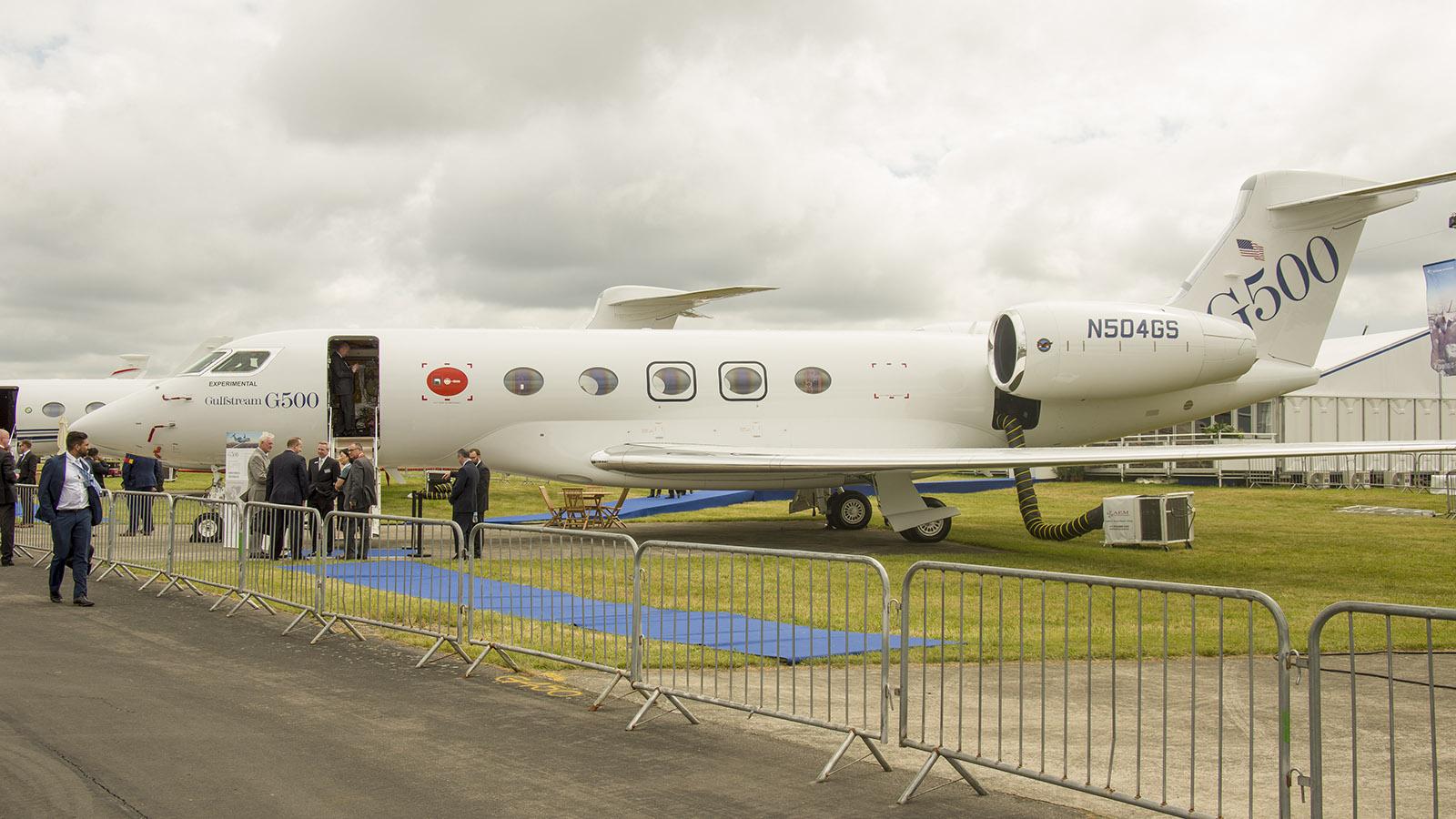 _IMG5496 Gulfstream G500 N504GS Gulfstream s