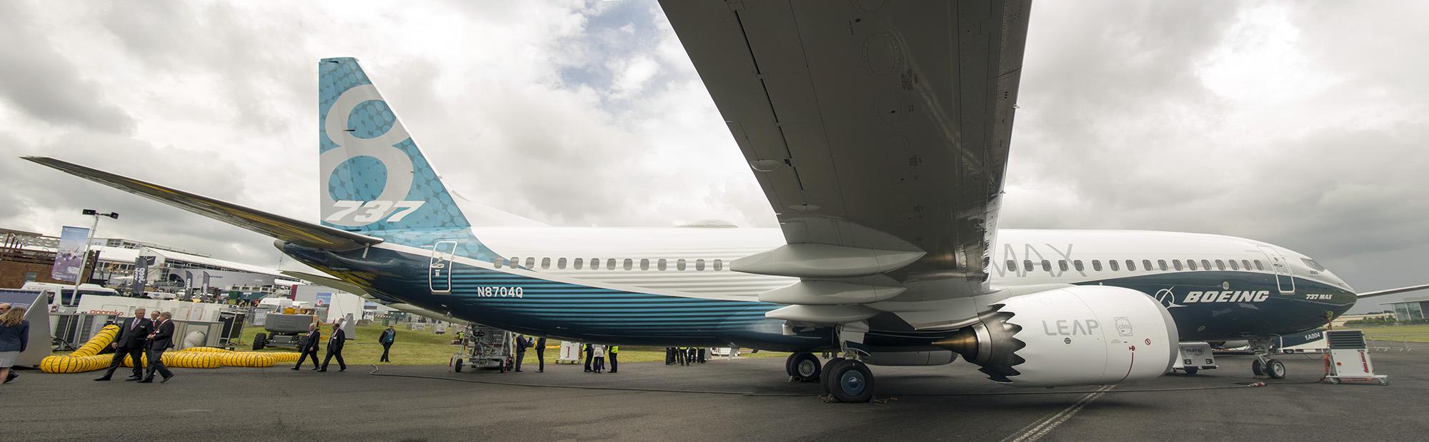 _IMG5516-5517-5518 Boeing 737-8 Max N8704Q Boeing company s