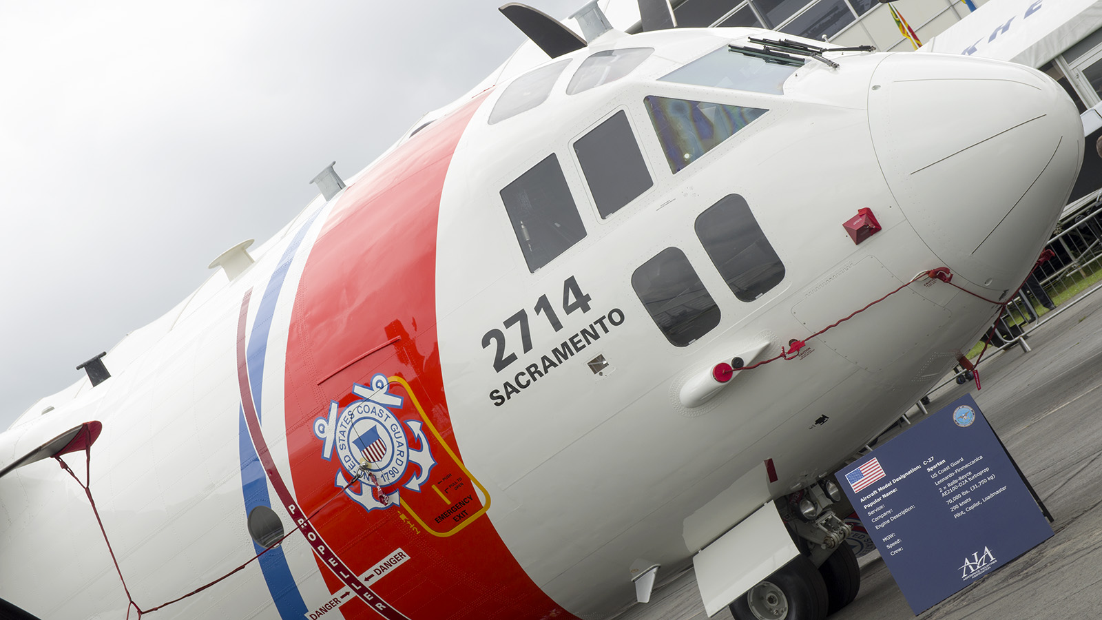 _IMG5538 Alenia HC-27J Spartan 2714 US Coast Guard s