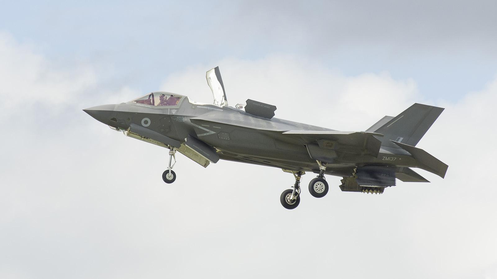 _IMG6095 Lockheed Martin F-35B Lightning II ZM137 RAF s