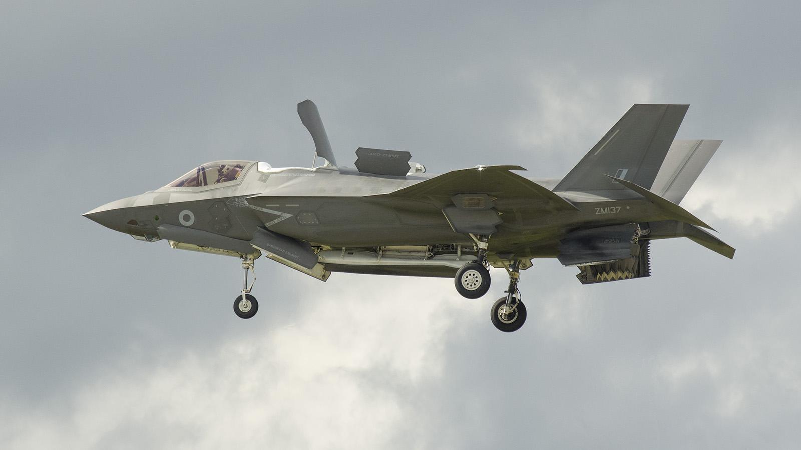 _IMG6105 Lockheed Martin F-35B Lightning II ZM137 RAF s