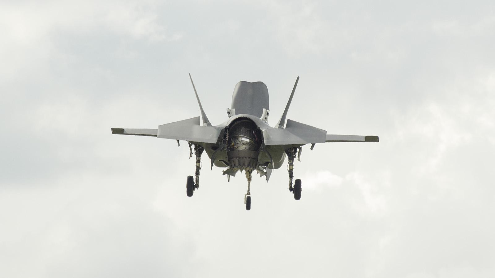 _IMG6117 Lockheed Martin F-35B Lightning II ZM137 RAF s