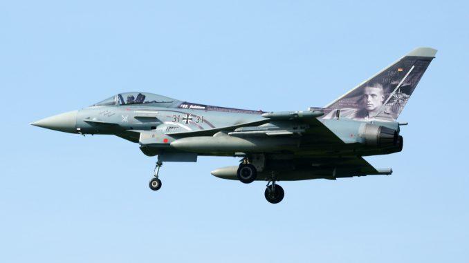 Eurofighter EF2000 31+31 TLG31 German Air Force Spirit of Oswald Boelcke