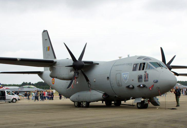 Alenia C-27J Spartan 2704 Esc902 AvTr Romanian Air Force