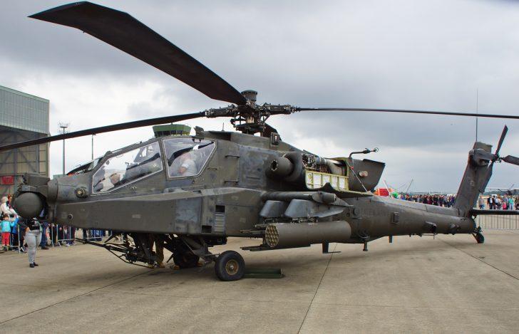 Boeing AH-64D Apache 04-05453 1-3 ARB /12CAB US Army