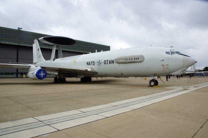 Boeing E-3A Sentry LX-N90444 NAEW&CF NATO