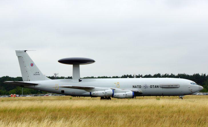 Boeing E-3A Sentry LX-N90445 NAEW&CF NATO