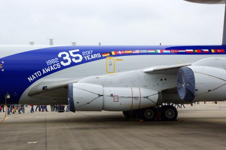 Boeing E-3A Sentry LX-N90450 NAEW&CF NATO