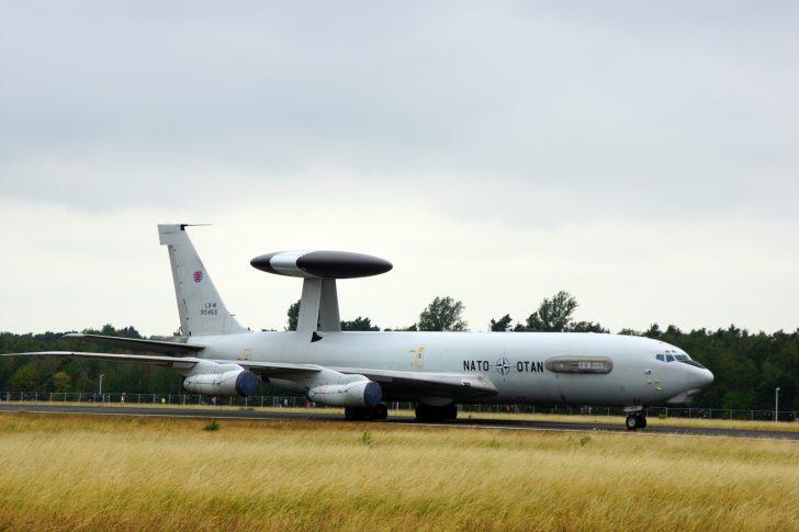 Boeing E-3A Sentry LX-N90455 NAEW&CF NATO