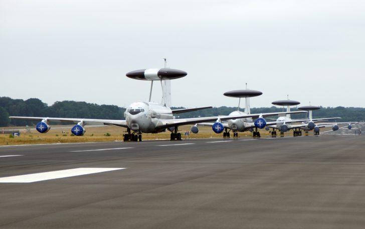 Boeing E-3A Sentry NAEW&CF NATO