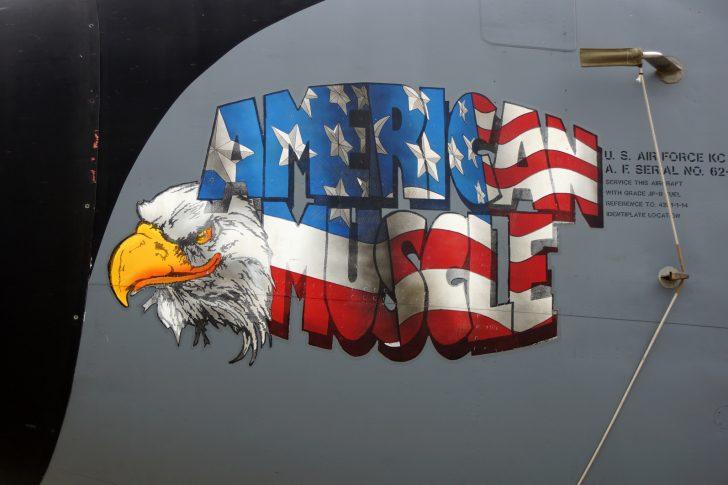 Boeing KC-135R Stratotanker 62-3572 117 ARS Kansas ANG USAF