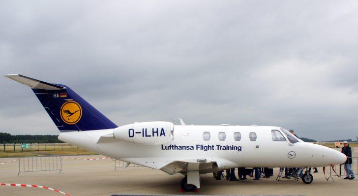 Cessna 525 Citation CJ1 D-ILHA Lufthansa Flight Training Center