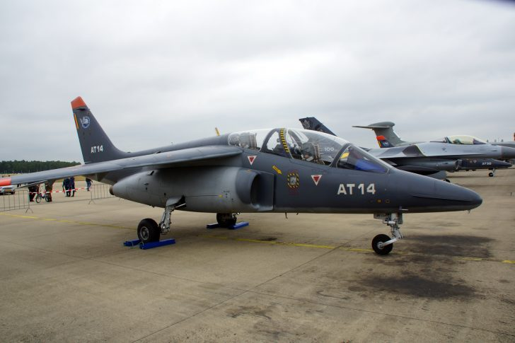 Dassault Dornier Alpha Jet 1B+ AT14 11Sm AJtS Belgian Air Component