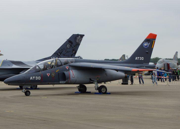 Dassault Dornier Alpha Jet 1B+ AT30 11Sm AJtS Belgian Air Component