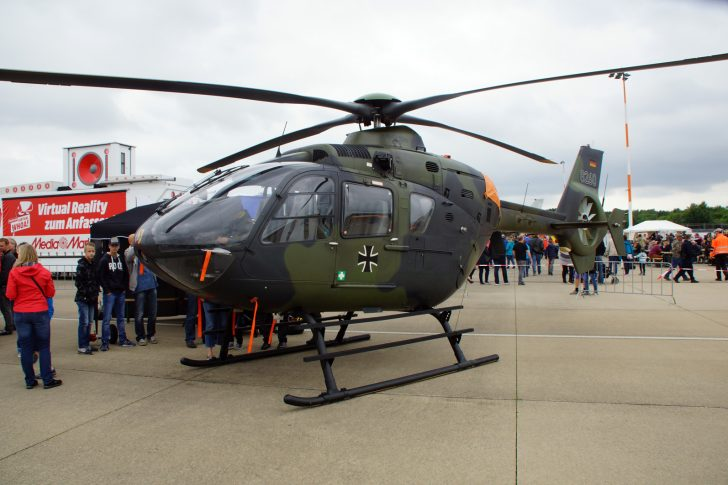 Eurocopter EC135T1 82+60 HFWS German Army