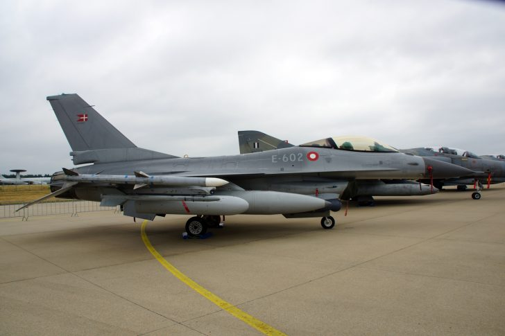 F-16AM E-602 Esk 730 Danish Air Force